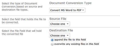 Convert Document Formats