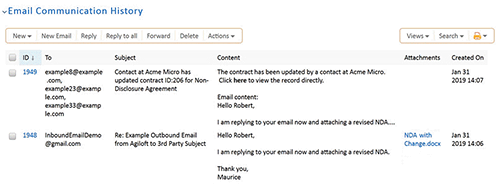 Email Audit Trail