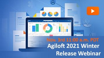 agiloft 2021 winter release webinar banner