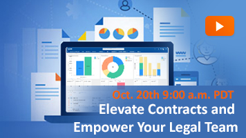 elevate contracts and empower your legal team with clm webinar