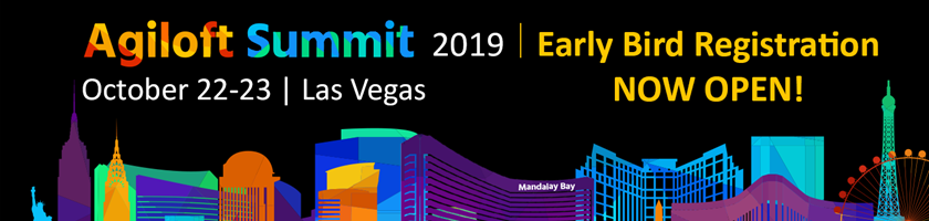 Early Bird Registration for Agiloft Summit 2019 is now open!