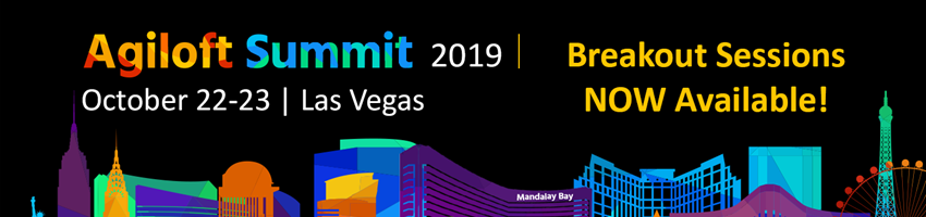 Agiloft Summit 2019: Breakouts Now Available