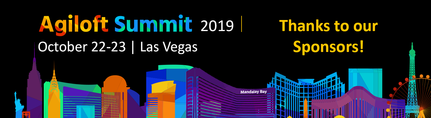 Agiloft Summit 2019: Thanks to our sponsors
